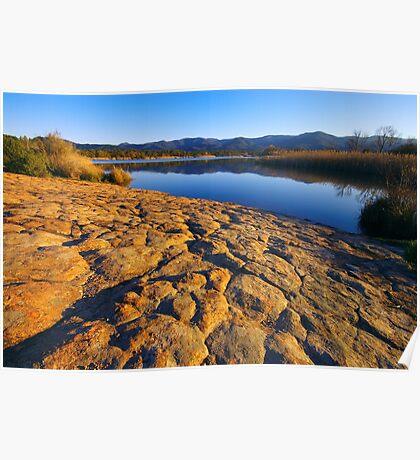 Provence lake Poster
