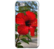 Red Flower Bloom iPhone Case/Skin