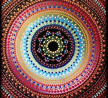 Healing Heart Mandala by Kirsty Russell