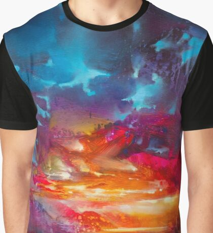 Liquid Light 2 Graphic T-Shirt