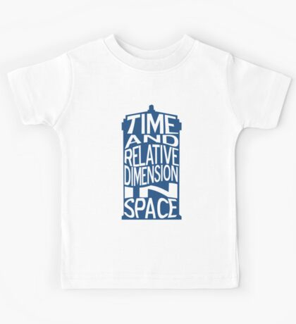 TARDIS Definition Kids Tee