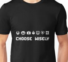 Sonic The Hedgehog - Choose Wisely Unisex T-Shirt