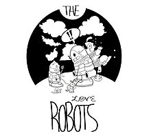 The Love Robots Photographic Print
