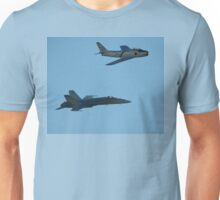 Sabre And Hornet @ Temora Airshow 2009 Unisex T-Shirt