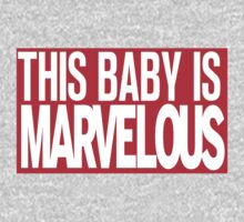 This Baby Is Marvelous One Piece - Long Sleeve
