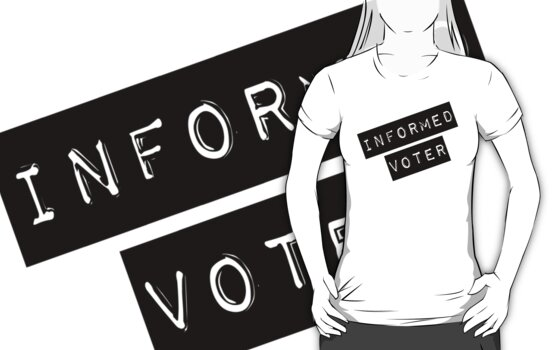 Informed Voter Label by 321Outright