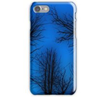 Spooky trees. iPhone Case/Skin