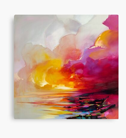 Magenta Shade Canvas Print