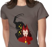Hush -  Lady Loki as Scarlet Witch Womens Fitted T-Shirt