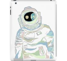 Spaceman in the Universe iPad Case/Skin