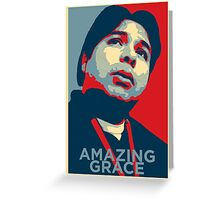 Julio Avasan - Amazing Grace Greeting Card