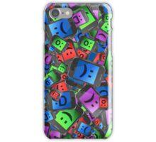 Emoticon fun. iPhone Case/Skin