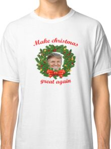 Christmas with Donald Trump Classic T-Shirt
