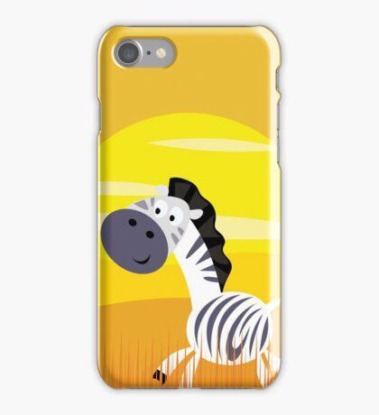 New in shop : Zebra original artwork for Kids iPhone Case/Skin