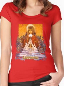Labyrinth Women's Fitted Scoop T-Shirt