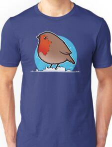Cute Christmas Robin T-Shirt