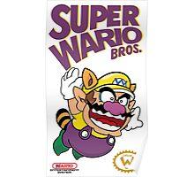 Super Wario Bros Poster