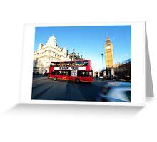 London Smart Greeting Card