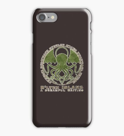 Cthulhu R'lyeh Island Lovecraft iPhone Case/Skin