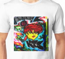West Philly Graffiti Photo Kiss Girl Unisex T-Shirt