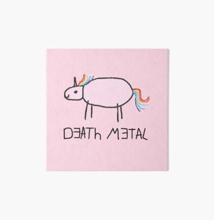 Death Metal Unicorn Art Board