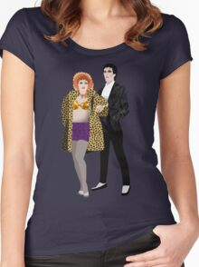 The Cramps, Lux and Ivy Women's Fitted Scoop T-Shirt