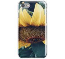 Sunflower Up Close iPhone Case/Skin