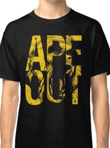 Discreetly Greek :: Alpha Phi Alpha :: APE OUT Classic T-Shirt