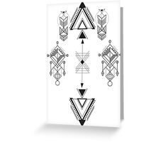 Arrows, indie Greeting Card