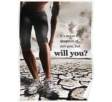 Can You vs Will You Poster