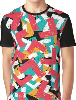 Abstract grunge hipster pattern design Graphic T-Shirt