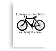I always Wanted To Fly, So I bought a bike Metal Print