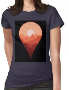 Destination Unknown Womens Fitted T-Shirt