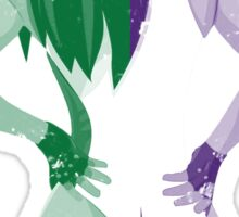 Minimalist She-Hulk Sticker