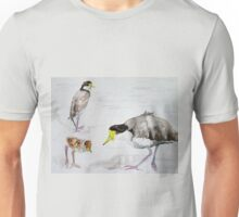 Masked Plovers by Liz H Lovell Unisex T-Shirt