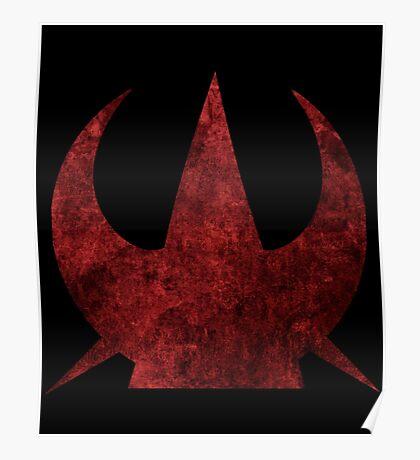 Spiked Rebel Starbird Poster