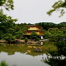 Kinkaku-ji  in colour by Perggals© - Stacey Turner