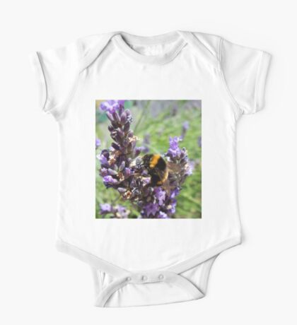 Lavender and the Bee One Piece - Short Sleeve