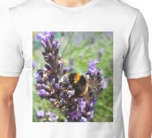 Lavender and the Bee Unisex T-Shirt