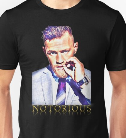 Conor Mcgregor Gold Unisex T-Shirt