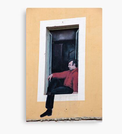 Fenêtre Faux Canvas Print