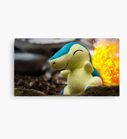 Pokemon - Cyndaquil Canvas Print