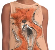 Foxes Contrast Tank
