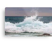Big waves at the Little Cove ~ Bruce Peninsula, Ontario, Canada Metal Print