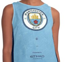 Manchester City Design Contrast Tank