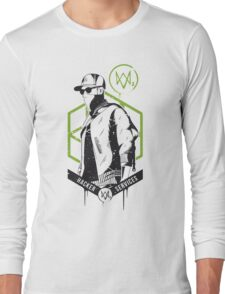 Watch Dogs 2 - Hacker Services Long Sleeve T-Shirt