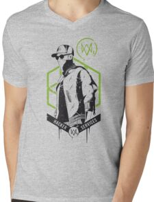 Watch Dogs 2 - Hacker Services Mens V-Neck T-Shirt