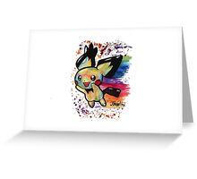 Cute Nyan Pichu Tshirts + More Jonny2may Greeting Card