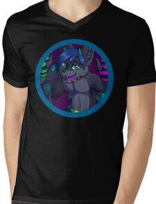 Krist Dragon Mens V-Neck T-Shirt