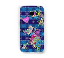 world map Samsung Galaxy Case/Skin